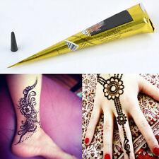 1/3pcs Temporary Tattoo Body Art Paint Natural Herbal Henna Cones Mehandi ink