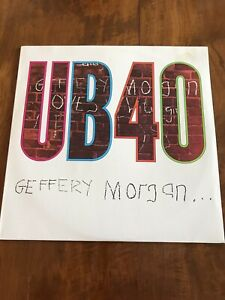 UB40 - Gefferey Morgan - original Aus LP