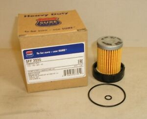 """MAHINDRA FUEL FILTER REPLACEMENT with 2  """"0"""" Rings -Top Quality Surefilter Brand"""