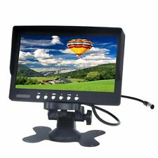 "BT 7"" TFT LCD Car Rearview Color Monitor for VCD DVD GPS Camera"