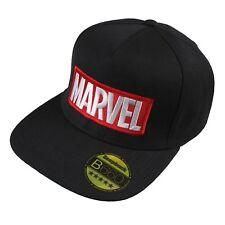 Marvel Mens - Logo - Baseball Cap - Black