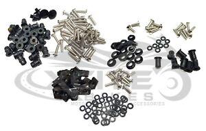Fairing bolts kit stainless steel, DUCATI 848 1098 1198 2007-2008 #BT503#