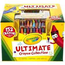 Crayola Ultimate Crayon Case, 152-Crayons, Free Shipping, New