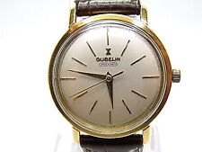 GUBELIN Ipso-Matic Automatic Movement 18k.Yellow Solid Gold Gents Watch.