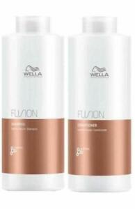 Wella Fusion Shampoo & Conditioner 1000ml DUO FREE 48Hr TRACKED DELIVERY