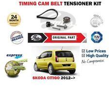 FOR SKODA CITIGO 1.0 CHYA CHYB 2011-->NEW GATES TIMING CAM BELT TENSIONER KIT