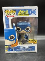 Funko Pop! Batgirl #148 Hot Topic Exclusive Diamond Collection DC W/ Protector