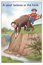 Golf Comic. A Small Balance at the Bank # 35 by S.Jacobs # 6115 by ETW Dennis.