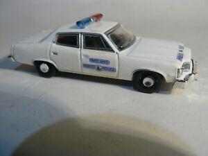 Henrico County Virginia Police Patrol Car, Old School Custom  1:64