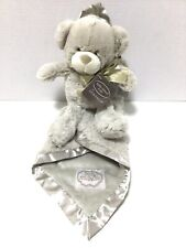 Kathy Ireland Zoo Babies Mr Paws Plush Bear & Blanket Set Baby Shower Gift Lovey
