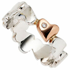 Echtschmuck-Ringe aus Weißgold mit Diamant 56 (7 mm Ø)