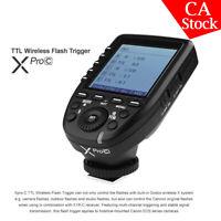 Godox XPro-C 2.4G TTL Transmitter Trigger X System High-speed For Canon Camera
