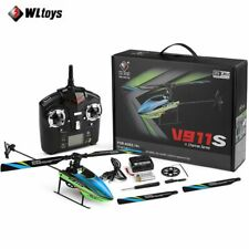 WLtoys V911s 2.4Ghz 4CH 6Aixs Gyro Single Blade Gyro Mini RC Helicopter For Kids