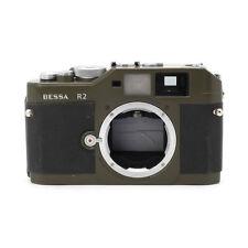 Voigtlander Bessa R2 Olive Manual Focus 35MM Film Rangefinder Camera Body