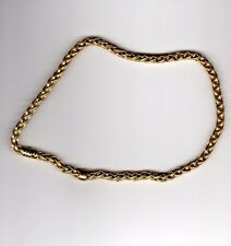 "Chimento 18k YG 17"" Spiga Necklace Chain"