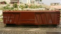 Roundhouse MDC HO 50' OB Dbl Dr Boxcar, Illinois Central Upgraded, Ex