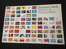 Business Cards: THE ART OF SAYING HELLO, Mike Dorrian Paperback Design Book