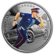 2016 Canada 2/3 oz Silver $15 National Heroes Police - SKU #102823