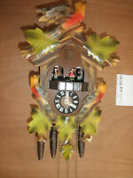 Cuckoo Clock German Black Forest SEE VIDEO musical 1 Day CK2644