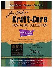 Sizzix Nostalgic Collection Paper Pad 72pc #657986 Retail $7.99 design Tim Holtz