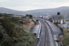 PHOTO  VIEW DOWN ON DENT RAILWAY STATION 1980S