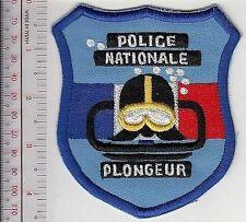 Police Diver France National Police EPIGN Dive Team Gendarmerie Nationale Plonge