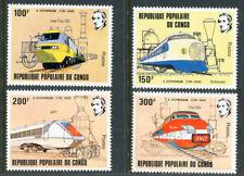 Congo 627-630, MNH, Locomotives Trains. x2669