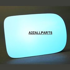 FOR BMW E39 520 523 525 528 530 535 97 98 99 2000 01 LEFT SIDE GLASS MIRROR BLUE
