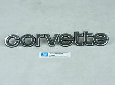New 1980 1981 1982 Corvette Rear Bumper Emblem / Letters- GM Restoration Parts