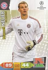 MANUEL NEUER GERMANY BAYERN MUNCHEN CARD ADRENALYN CHAMPIONS LEAGUE 2012 PANINI
