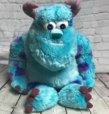 """Disney Just Play SULLEY Monsters Inc Plush Adorable 17"""" Sitting GREAT DEAL"""