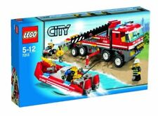 LEGO CITY 7213 Feuerwehr-Truck mit Löschboot Baukasten System 5-12J NEUw&OVP rar