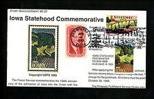 Ranto Cachet US FDC #3575 on 3088 w/ 1269 Iowa IA Large Letter 2002
