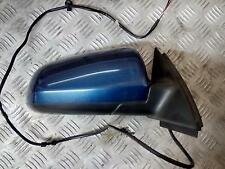 AUDI A4 RIGHT O/S DRIVERS  ELECTRIC Door Mirror  2005 - BLUE