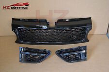 BLACK EDITION Autobiography Type Grill Vent FIT Range Rover Sport 2010 2013