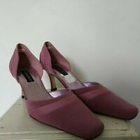 JACQUES VERT PINK OCCASION SHOES SIZE 5 1/2 . WEDDING/CRUISE/FORMAL