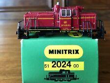 Minitrix 51 2024 00 Diesellok BR 261 626-6 OVP Spur N, nur Gehäuse