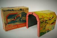 METTOY RAILWAYS No.5615 VINTAGE 1950s BOXED O GAUGE TINPLATE RAILWAY TUNNEL