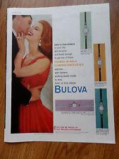1959 Bulova Watch Ad Shows 4 Models La Petite & Marquise