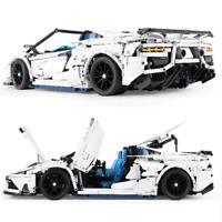 Custom Technic Aventador Roadster 42056 42083 Blöcke Bausteine MOC 3.700 Teile
