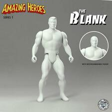 THE BLANK ACTION FIGURE VINYL ART TOY AMAZING HEROES SERIES FRESH MONKEY FICTION
