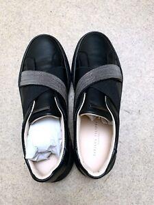 NEU!! €519 Fabiana Filippi Francesca Schuhe Sneaker schwarz Shoes Boots Monilis