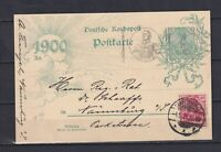 GERMANY 1921, Local card from Eisenach to Wartburg, special cancellation