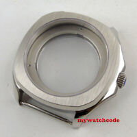 40mm parnis stainless steel Sapphire glass Case fit 2824 2836 8215 movement C129