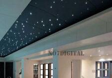 16W RGB LED optical Fiber Optic Star Ceiling light Kit 200PCS 0.75mm 2.5m cable