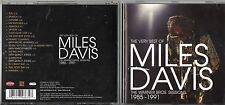 MILES DAVIS CD THE VERY BEST OF AWarner Bros Sessions 1985 1991 fuori cat.2007