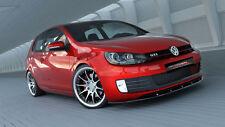 Spoilerlippe für VW Golf 6 GTI Lippe Frontspoiler Spoiler Diffusor Ansatz 2