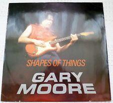 "Gary Moore Shapes of Things 12"" Vinyl Single Virgin Records TEN 19-12 EX/EX"