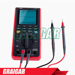 UNI-T UT81B 8MHz 40MS/s Handheld LCD Scopemeter Oscilloscope Digital Multimeter