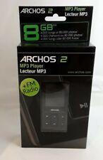 AC7 New Archos 2 Video MP3 Player 8Gb Flash Memory - Black (501263)